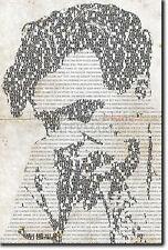 ALDOUS HUXLEY TYPOGRAPHIC POSTER THE DOORS OF PERCEPTION