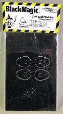 Cutting Edge Black Magic 1/48 J2M Jack/Raiden Wheel Hub Mask  *Rare-OOP