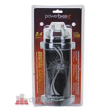 PowerBass ASC-2.4  Car Audio 2.4 Farad Digital LCD Capacitor 2,400W Amp Cap