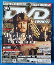 DVD REVIEW  N. 27 - GEN. 2004 - JOHNNY DEPP - QUADRILOGIA ALIEN - STEPHEN KING