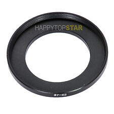 37mm to 52mm 37 - 52 mm Male to Female Photo Step-Up Lenses Filters Ring Adapter