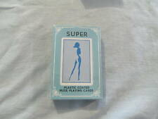 #D308. SEALED PACK OF PLAYING CARDS - LADY THEME,SUPER(blue)