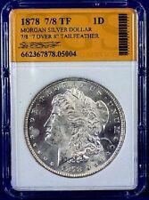 1878 7/8 TF Morgan Silver Dollar 90% Silver 662367878-05004