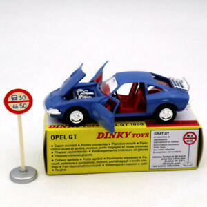 1:43 Atlas Dinky Toys 1421 Opel GT 1900 Diecast Models Car Collection