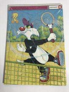 Vintage Elmer Sylvester & Tweety Bird Looney Tunes Target Puzzle 1973 Complete