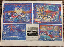 Chew  WONG MOO  Gravure etching S/N Emploi de matière 3033 Malaysia *