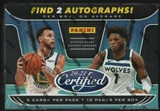Panini 2020-21 Certified Basketball Cards