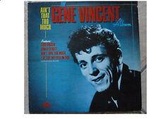 GENE VINCENT * AIN'T THAT TOO MUCH * VINYL LP EVEREST CBR 1006 PLAYS GREAT