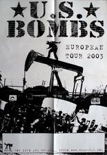 US BOMBS - 2003 - Tourplakat - Concert - European - Tourposter
