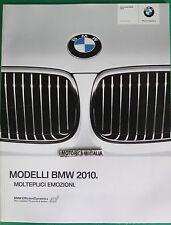 BMW AUTO 2010 CATALOGO BROCHURE PUBBLICITA