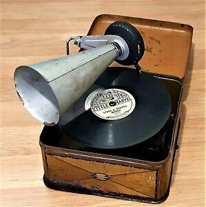 Delightful 1920's Bing Pigmyphone Children's Gramophone To Restore