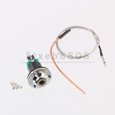 """1/4"""" End Pin Jack with Soft Under Saddle Piezo Pickup for Acoustic Guitar"""