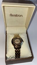 ARMITRON NOW Women's Watch  ROSE GOLD & copper Crystals New in Box