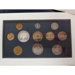 FRANCE 1995 COFFRET BE Belle Epreuve SERIE 11 Monnaies 1 centime à 100 Francs
