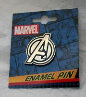 Marvel Comics The Avengers Enamel Pin New NOS MOC 2017 Lapel Hat