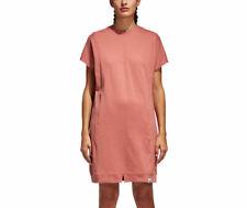 Vestido corto Adidas Originales Para Mujer xbyo ceniza Rosa Algodón japonés XS S M L