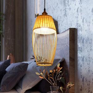 Asian Vintage Kitchen Pendant Light Wood Bar Lighting Bedroom Ceiling Lights