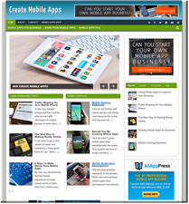 Create Mobile Apps  Turnkey Website Business earn from affiliate - adsense