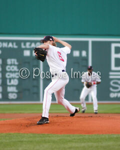 Color 8x10 photo of Boston Red Sox pitcher Bronson Arroyo #2