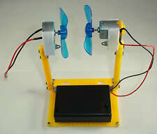 Analog micro wind generator system dc motor kit energía eólica