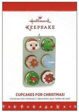 2016 Hallmark Cupcakes for Christmas Limited Edition Ornament!
