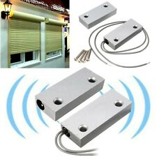 Metal Door Magnetic Switch Alarm Contact Roller Shutter Store Security Safety Sc
