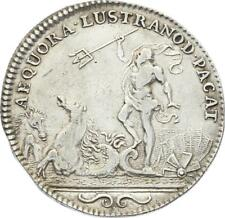 O3432 Jeton Louis XIV Royal Neptune Trident ND Argent ->F offre