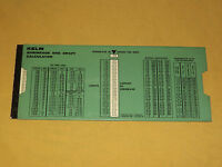 VINTAGE KELM SHRINKAGE and  DRAFT CALCULATOR