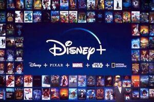 Disney Plus 4K 1Year 1año 1anno