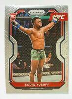 2021 Panini Prizm Sodiq Yusuff RC #71, 1st Year Prizm, UFC!