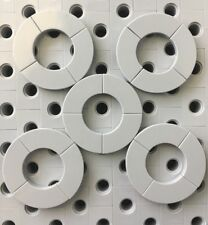 Lego Light Gray 2x2 Tile With Bow New Lot Of 20pcs 1/4 Circle Tiles