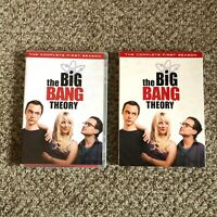 The Big Bang Theory: Season 1 3 DVD set with case Complete Authentic USA Version
