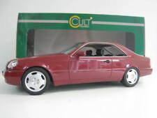 Mercedes-Benz 600SEC  1992  in rot  CULT  Maßstab 1:18  NEU  OVP