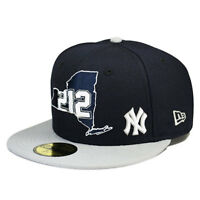 New York Yankees 212 or 718 AREA CODE State Fitted 59Fifty New Era MLB Hat