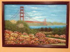 San Francisco, Golden Gate Bridge Painting