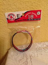 BOSTON RED SOX RUBBER BRACELET WRIST BAND JOHNNY DAMON FOREVER COLLECTIBLE
