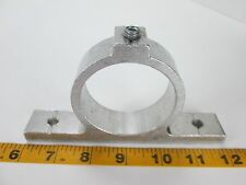 """Aluminum Hose Bracket with Set Screw 2-3/8"""" I.D. Conduit Routing Pipes Wiring T"""