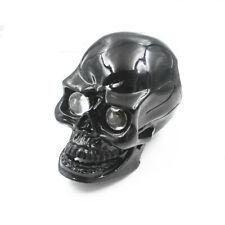 12V Motorcycle LED Skull HeadLight Headlight Lamp Cruiser Chopper Bobber Touring