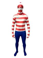 Helloween fiesta wheres Wally Morphsuit cuerpo completo traje