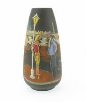 Keto Keramik Vase 1004 Mid Century Emaille Deko Pariser Szene Montmartre wgp mcm