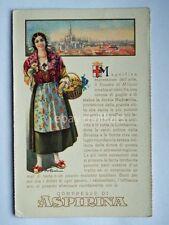 ASPIRINA BAYER Duomo Milano vecchia cartolina