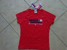 California Angels LADIES / GIRLS  T-Shirt  Red  8/10 ( M )  by Majestic