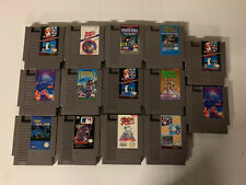Nintendo Game Lot NES Games Tested And Working