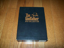 The Godfather trilogy on Dvd. 1, 2, 3 + Bonus Materials. I, Part Ii, Part Iii