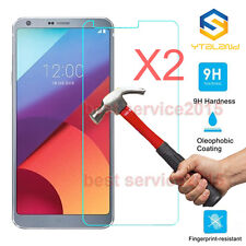 2Pcs 9H+ Premium Tempered Glass Film Screen Protector Cover For LG G6 2017
