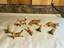 New ListingLot of 8 Vintage Fox Figurines