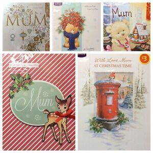 Mum christmas card    . (?A)