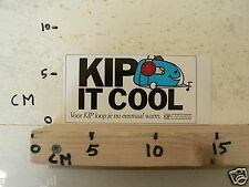 STICKER,DECAL KIP CARAVANS KIP IT COOL