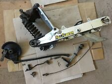 Suzuki TS125 TS 125 X SwingArm Swing Arm & Shock & Linkage Etc