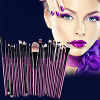 20x Makeup Brush Tool Foundation Powder Eyeshadow Lip Toiletry Cosmetic Brushes